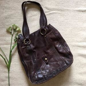 Caterina Lucchi Brown Leather Tote Bag